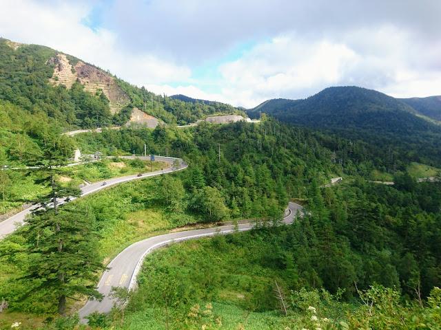志賀草津高原ルート 万座道路