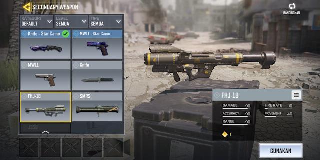 Cara Menggunakan Roket / FHJ-18 di Call of Duty: Mobile