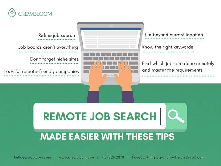 7 Essential Remote Job Hunting Tips