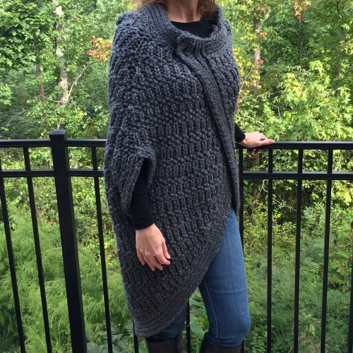 Cocoon Cape - Free Pattern