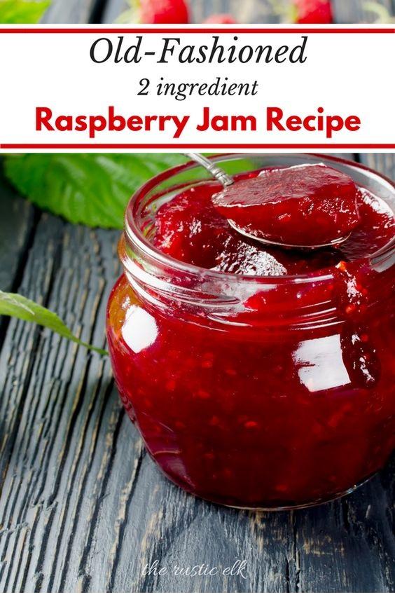 Old-Fashioned, No Pectin Raspberry Jam Recipe