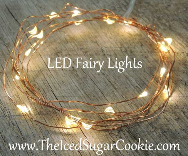 LED Battery Operated String Lights For Party Decorations by The Iced Sugar Cookie