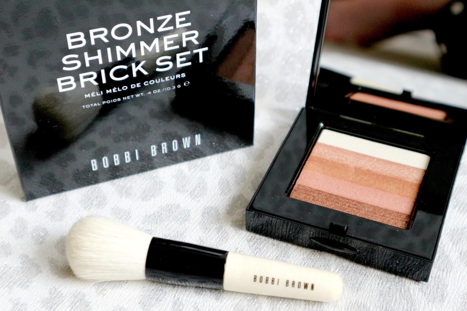 Bobbi Brown Shimmer Brick Set Bronze Brush