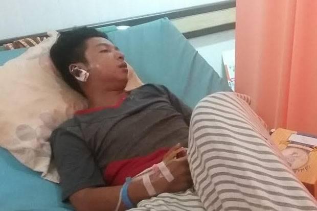 Lagi Berlibur di Palembang, Kaki Antoni Ditembak Anggota Polisi Seberang Ulu