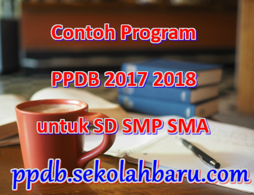 Contoh Program PPDB 2017 2018