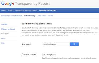 Cara Mengecek Keamanan Website atau Blog dari Hacker
