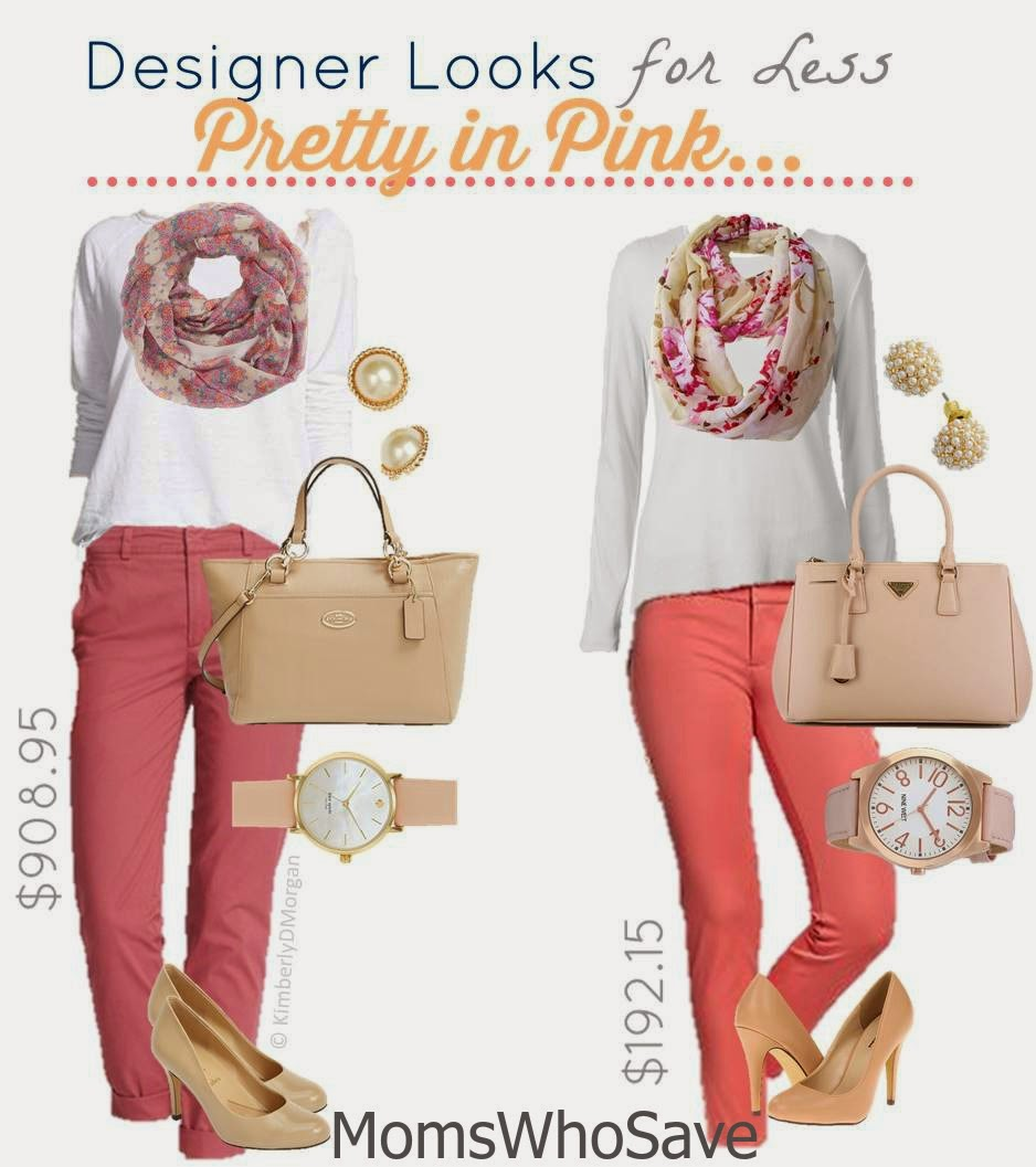 MomsWhoSave | Designer Look for Less -- Pretty in Pink