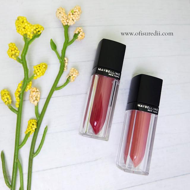 maybelline velvet matte lipstick