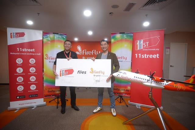 Firefly RM100 Cash Voucher di 11street