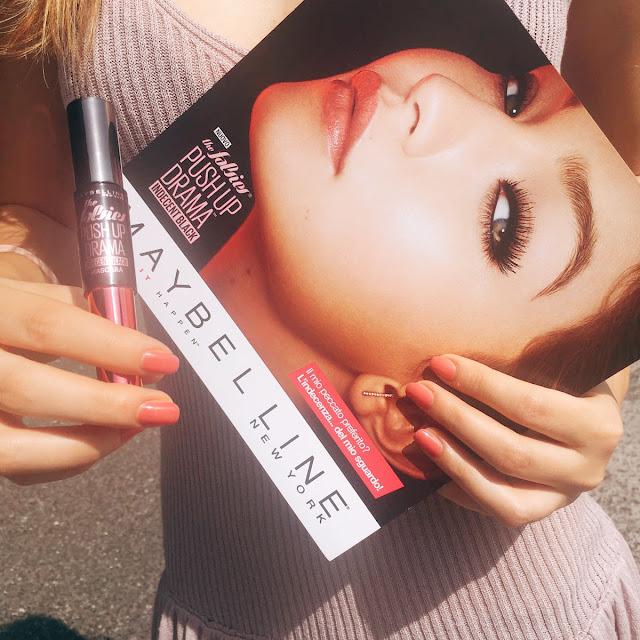 maybelline push up drama indecent black review teste blogger bloggeritalia fashion's obsessions zairadurso zaira d'urso gigi hadid