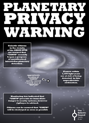 Planetary privacy warning - Earth begins interstellar planetary detection program