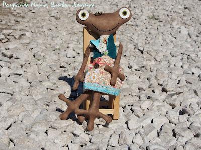 Царевна Лягушка купить ручная работа