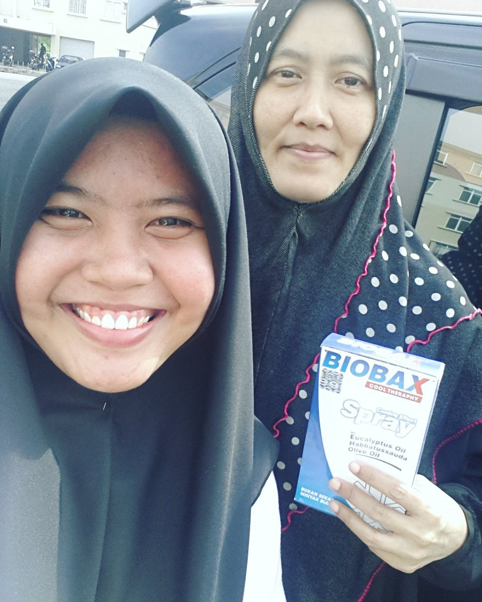 Yeay my first customer COD Biobax di Seremban!