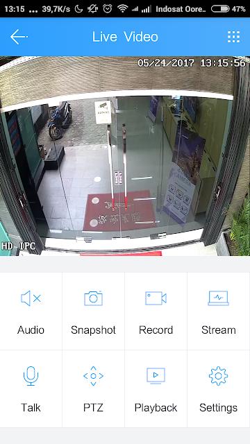 Setting NVR / DVR JOVISION Di Ponsel Android  menggunakan Aplikasi Cloudsee