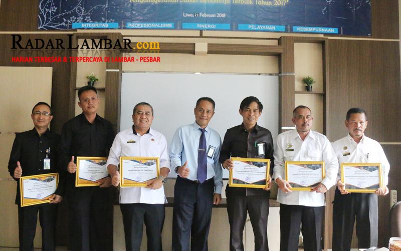 PN Liwa dan BPN Terima Reward dari KPPN