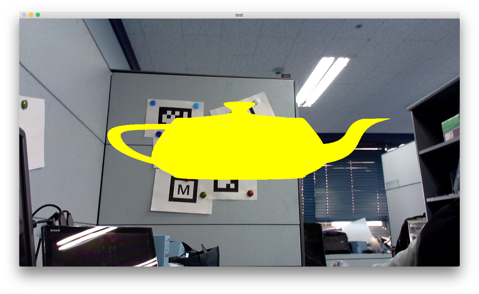 Opencv camera image in OpenGL background    MakeEYEDEA
