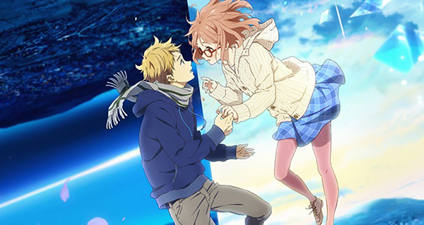 Anime terbaik dan populer dalam musim spring 2015 - Kyoukai no Kanata Movie: I'll Be Here - Mirai-hen