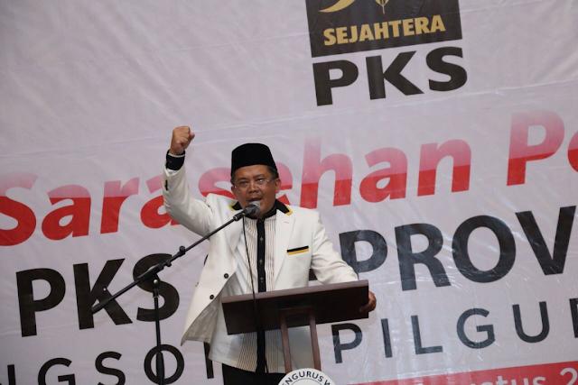Hadiri Serasehan di Banten, Sohibul Iman : Niat Kami Berpolitik, Berkhidmat untuk Rakyat