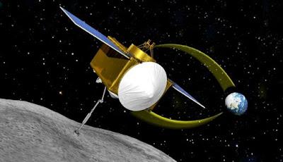 Mencegah Asteroid Menabrak Bumi Dengan Menyemprotkan Cat?