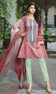 Lala Dahlia Mid Summer Embroidered Eid Dresses 2015