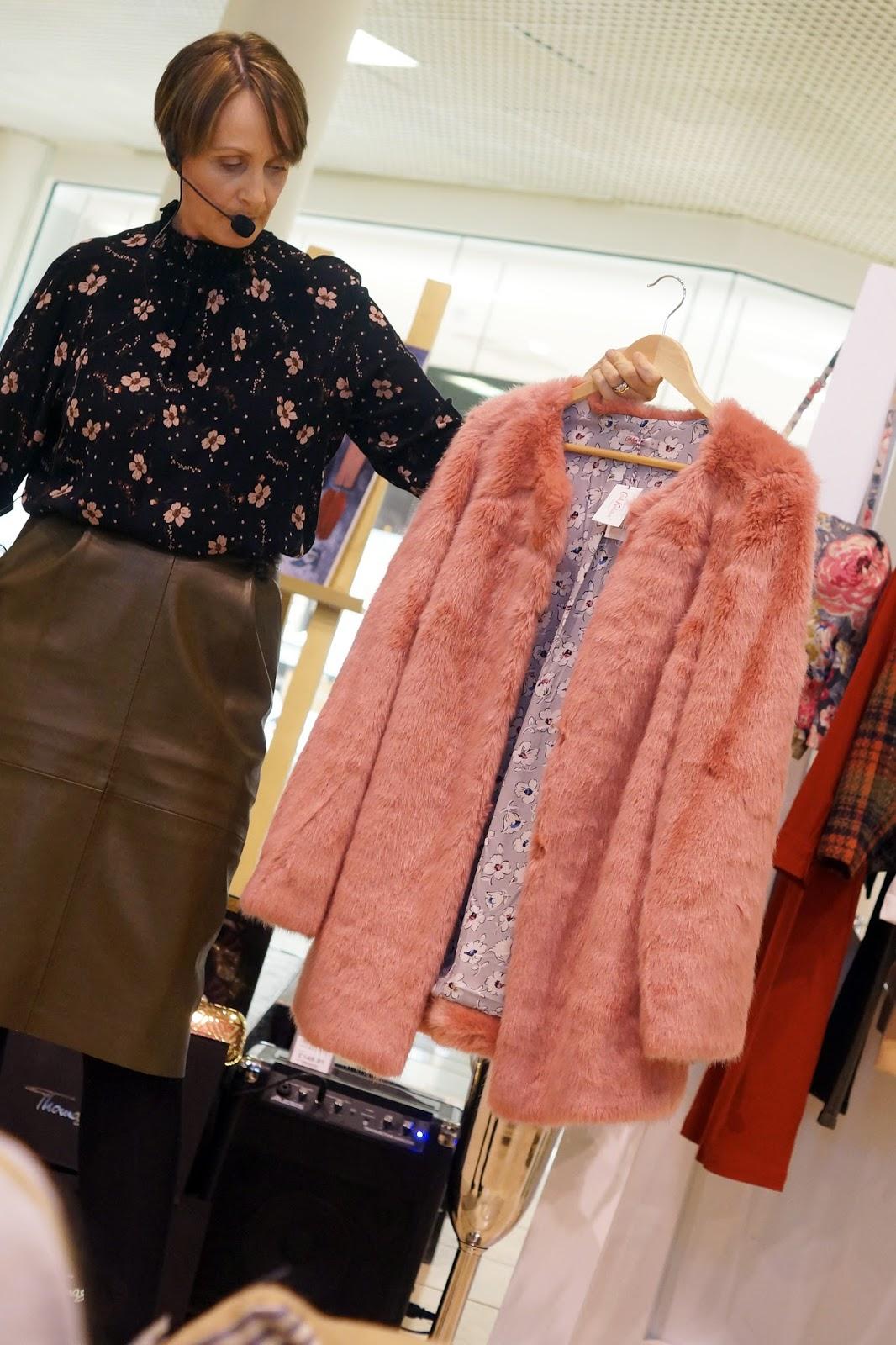 AW16 Style Intu Metrocentre Seasonal Trends North East Bloggers Cath Kidston Fur