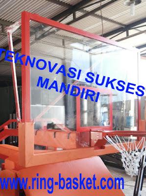 Papan Pantul Basket  bahan  Acrylic / Akrilik