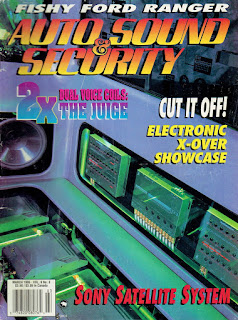 image of Cover of Autosound & Security Magazine March 1995