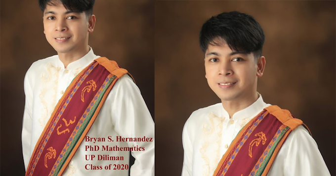 "UP student shared his experience on how he successfully surpass his ""3-years-challenge"" to graduate as PhD Mathematics 