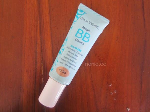 Review SILKYGIRL Magic BB Cream (03 TAN) - NONIQ | A