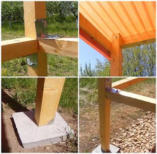 cum construim un foisor din lemn pentru gradina, tamplarie, constructii,