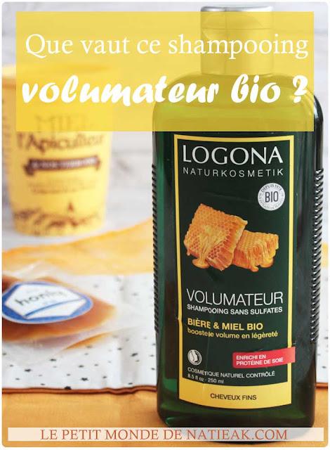 Shampoing volumateur bio de Logona