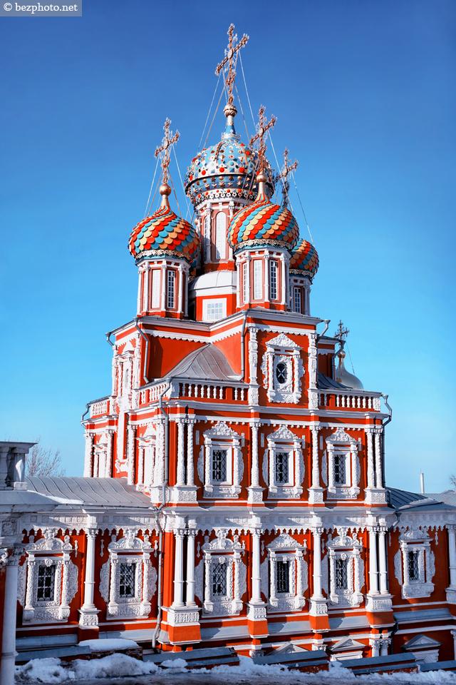 рождественская строгановская церковь