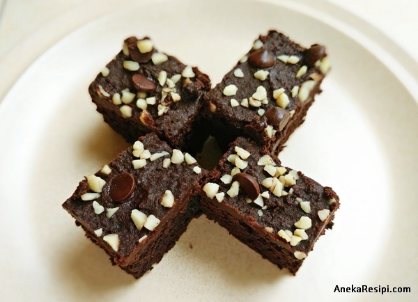 resepi brownie sedap lembut serta rangup