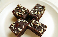 Resepi Brownies Cip Coklat Almond Paling Sedap