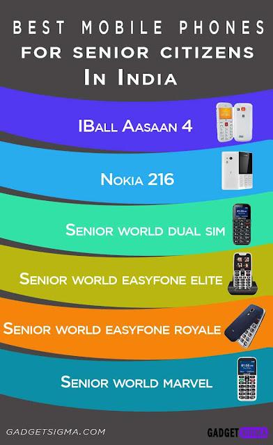 senior citizen mobiles