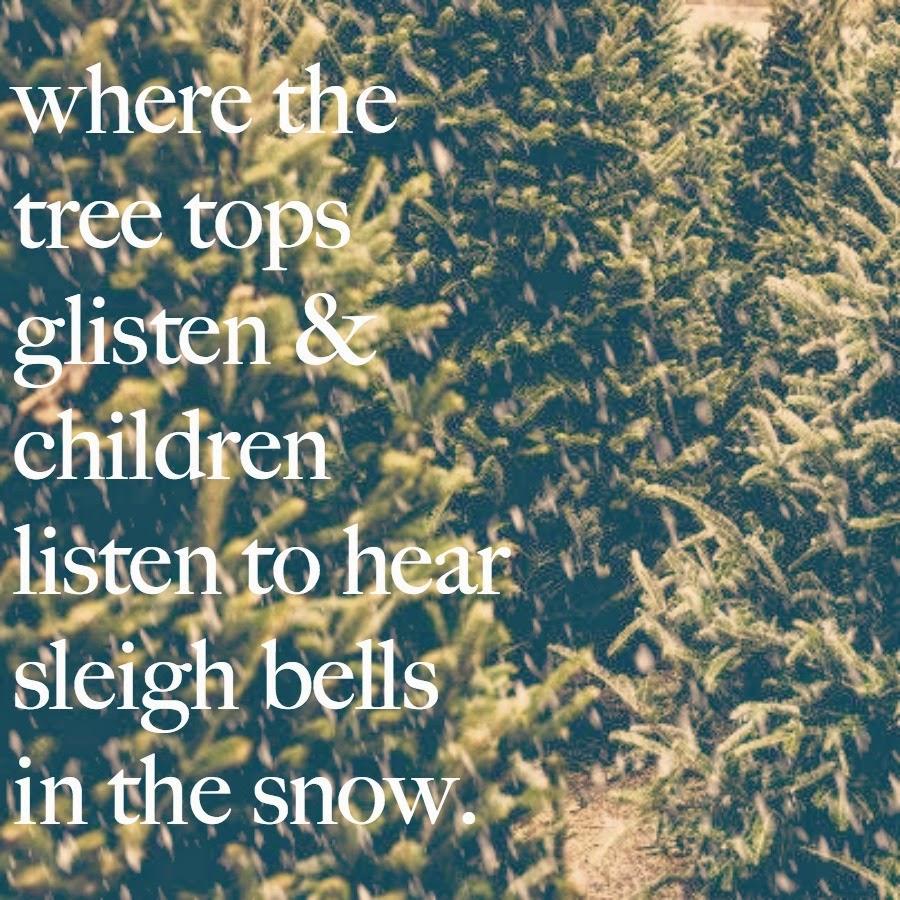 Christmas Lyrics Make My Heart Happy.