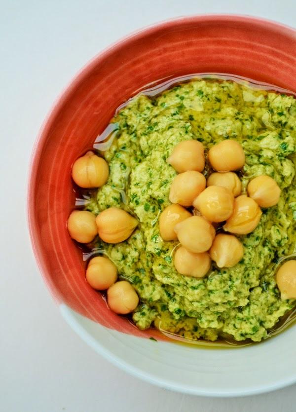 Arugula Hummus