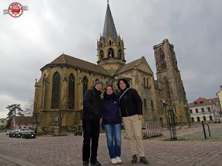 En Rouffach, Alsacia, Francia