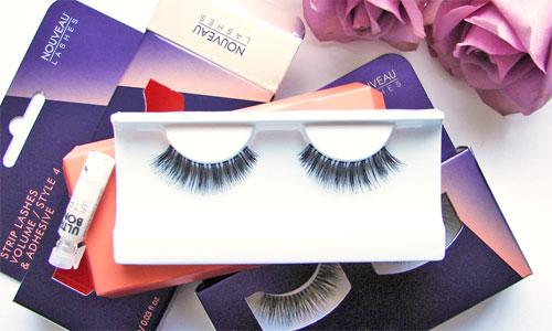 Productos de maquillaje para ojos : Pestañas postizas de tira