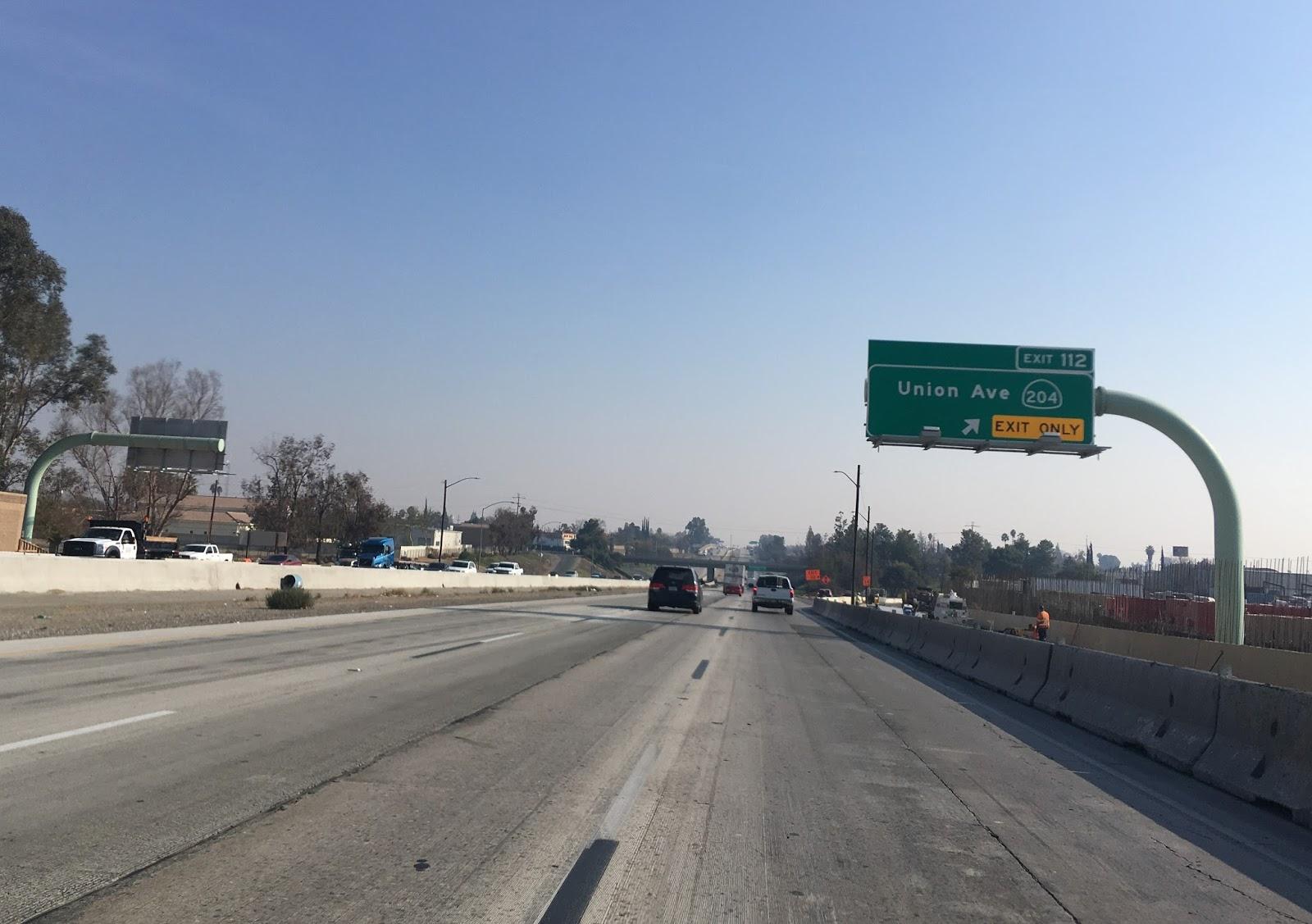 ca 204 passes has a rail underpass north of california avenue