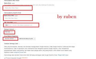 cara mendaftarkan blog ke googlr analytic