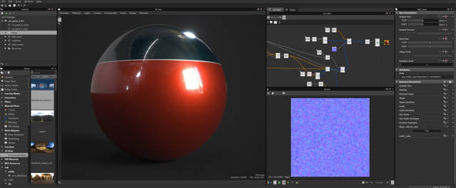 Substance Designer 5.6.1 Full (Crea Animaciones y objetos 3D)