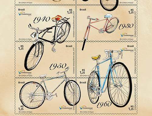 Filatelia│Correios lançam Selos com bicicletas antigas