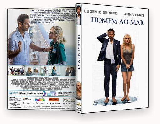 Homem Ao Mar 2018 Dublado DVD-R AUTORADO – CAPA DVD