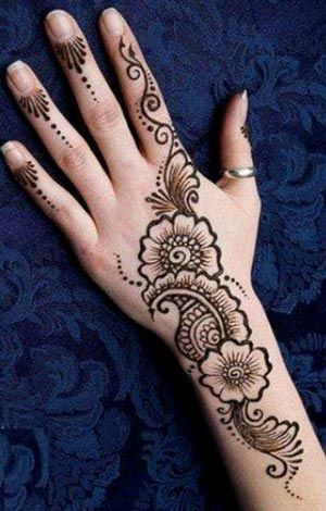40 Creative Yet Simple Mehndi Designs For Beginners Easy Mehndi Designs With Images Bling Sparkle,Easy Simple Mehndi Designs For Beginners Back Hand