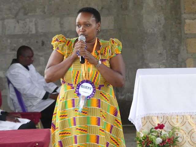 Gigil Mp Martha Wangari in a Seminar. PHOTO | BANA