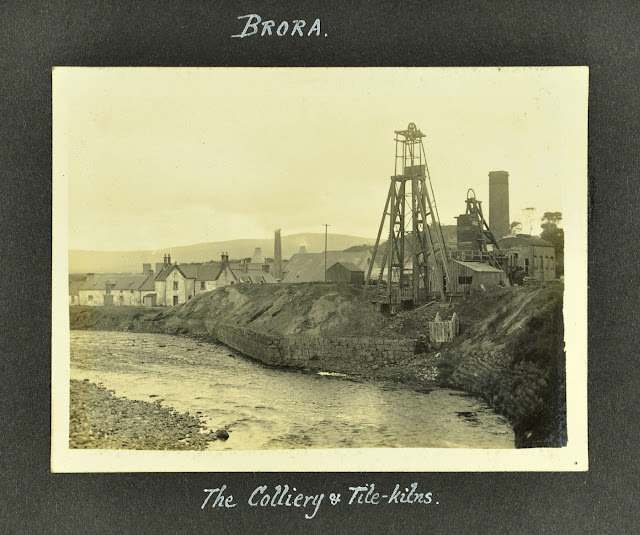 Brora Colliery and tile kilns 1929