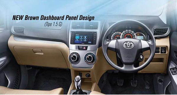 interior grand new toyota avanza