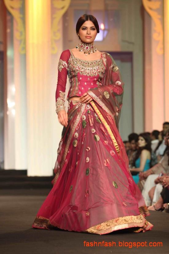 Fashion Fok Indian Pakistani Bridal Wedding Dresses 2013 Saree Lehenga Choli Gharara Sharara Dress