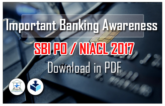 Banking Awareness Question Pdf